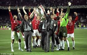 manchester united treble winner